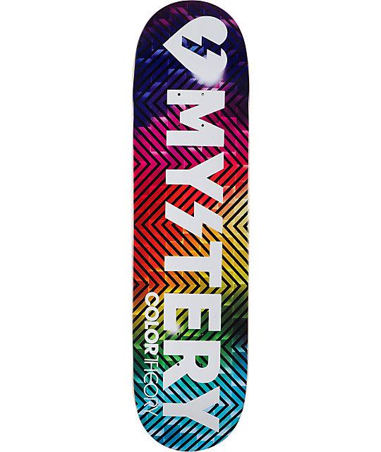 "Mystery Team Color Theory 8.12""  Skateboard Deck"
