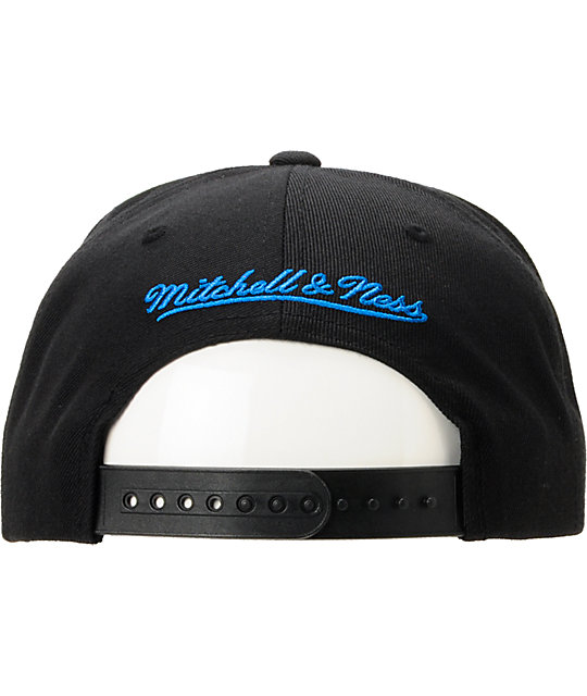 NBA Mitchell And Ness Orlando Magic Black Arch Snapback Hat
