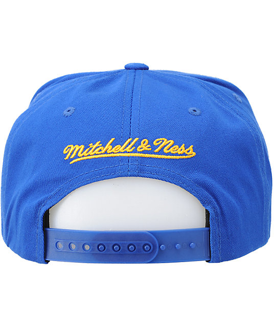 NBA Mitchell and Ness Nuggets Script Snapback Hat