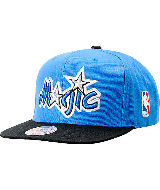 NBA Mitchell and Ness Orlando Magic Logo Snapback Hat