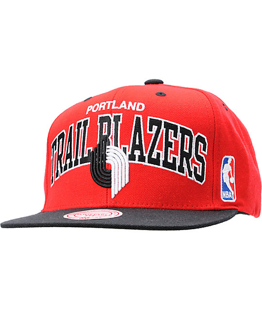 NBA Mitchell and Ness Portland Trailblazers Snapback Hat