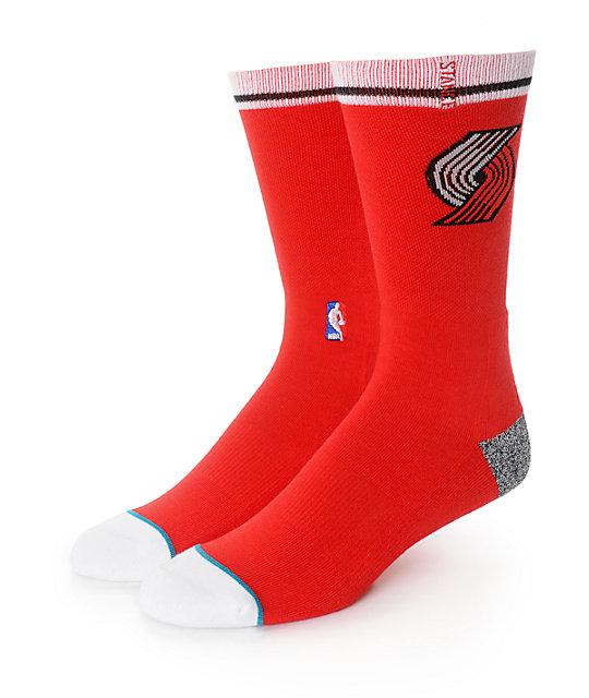 NBA Stance Blazers Arena Logo Crew Socks