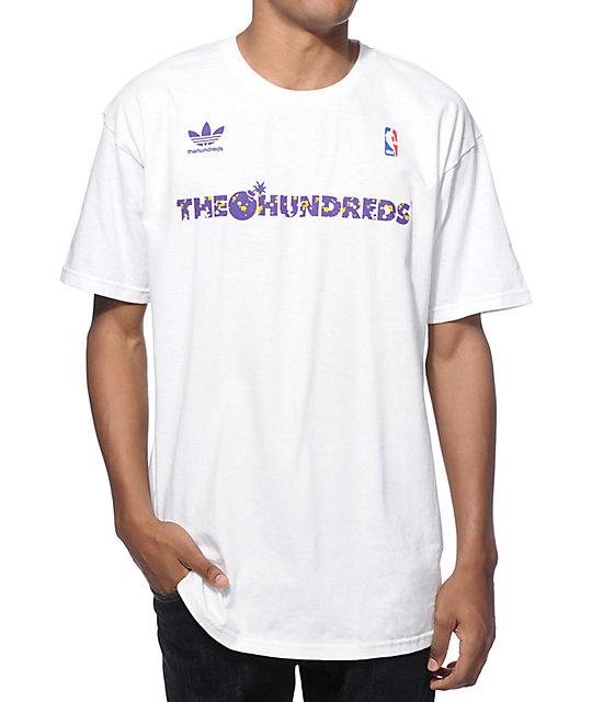 NBA adidas x The Hundreds FB Los Angeles T-Shirt