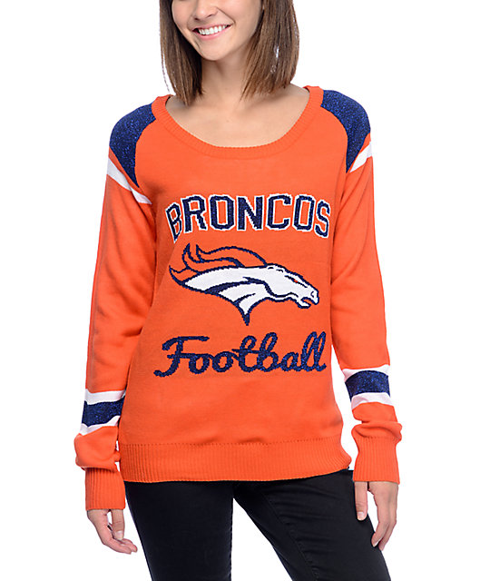 NFL Forever Collectibles Denver Broncos Sweater