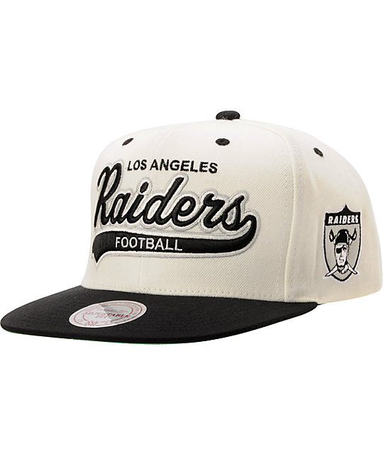 NFL Mitchell & Ness Oakland Raiders Tailsweeper Snapback Hat