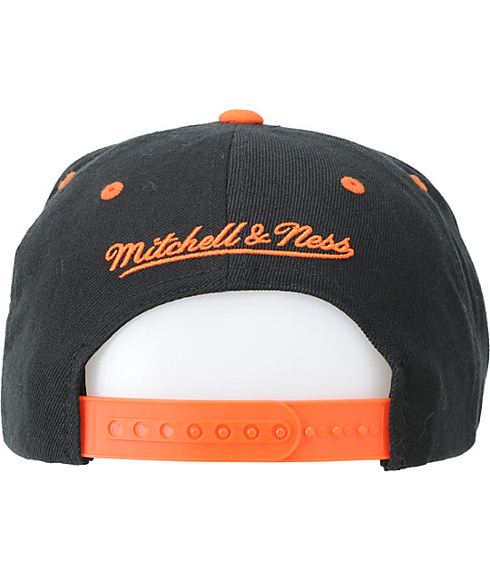 NFL Mitchell and Ness Bengals Flashback Snapback Hat