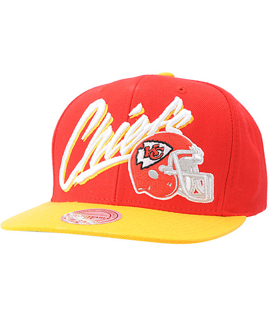 NFL Mitchell and Ness Chiefs Vice Snapback Hat
