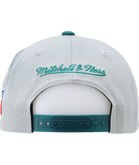 NFL Mitchell and Ness Miami Dolphins XL Snapback Hat