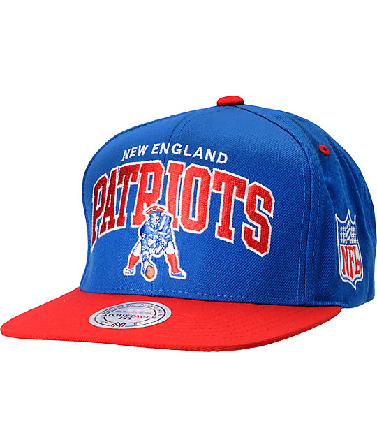 NFL Mitchell and Ness New England Patriots Snapback Hat