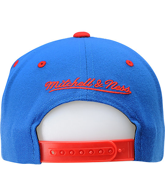 NFL Mitchell and Ness New York Giants Flashback Snapback Hat