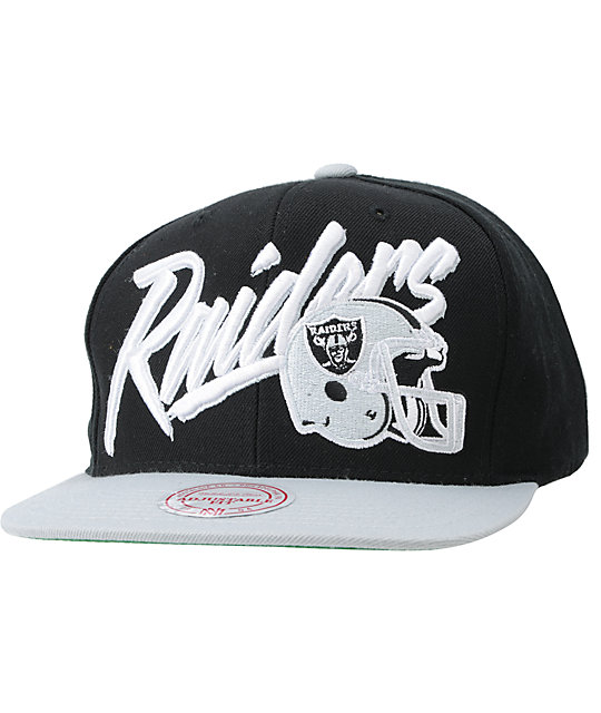 NFL Mitchell and Ness Raiders Vice Snapback Hat
