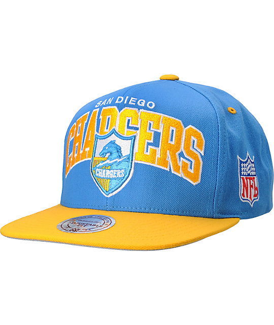 San Diego Chargers Blue: NFL Mitchell And Ness San Diego Chargers Blue Snapback Hat
