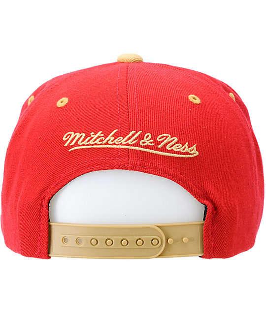 NFL Mitchell and Ness San Francisco 49ERS Flashback Snapback Hat