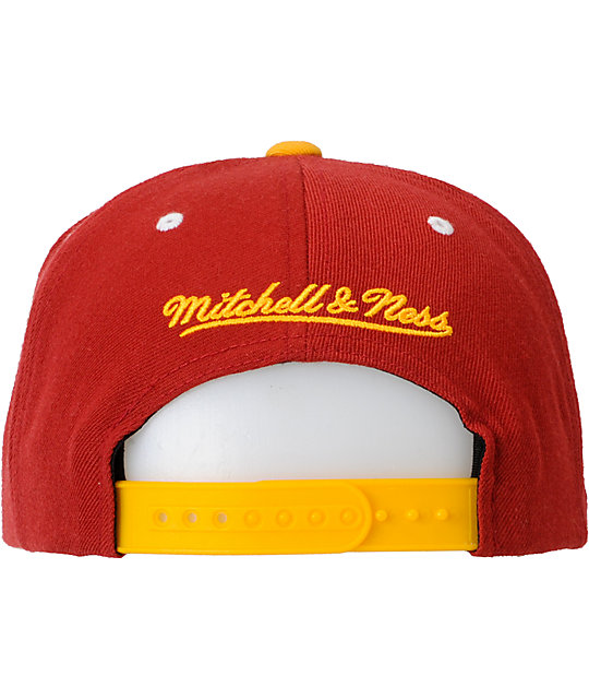NFL Mitchell and Ness Washington Redskins Script Snapback Hat