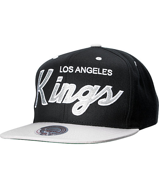 NHL Mitchell And Ness Los Angeles Kings Snapback Hat