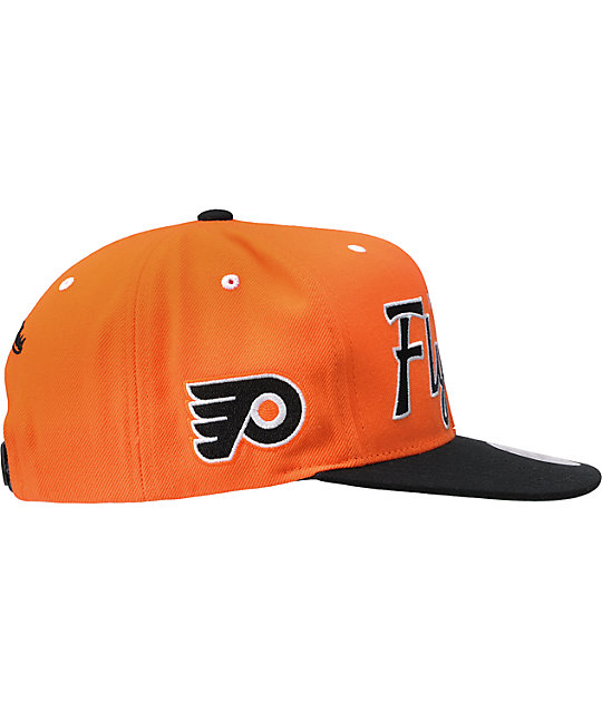 NHL Mitchell And Ness Philadelphia Flyers Snapback Hat