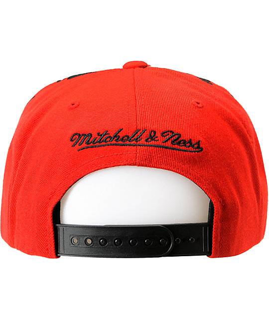 NHL Mitchell and Ness Devils Earthquake Snapback Hat