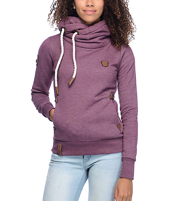 Naketano Darth VIII Bordeaux Hoodie