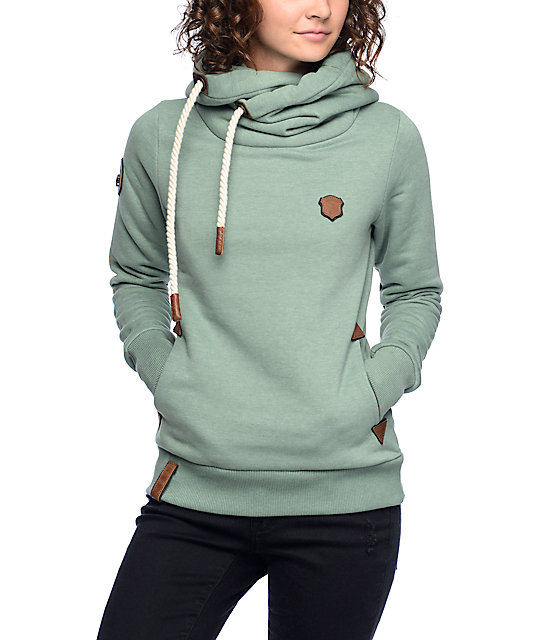naketano darth viii green melange hoodie zumiez. Black Bedroom Furniture Sets. Home Design Ideas