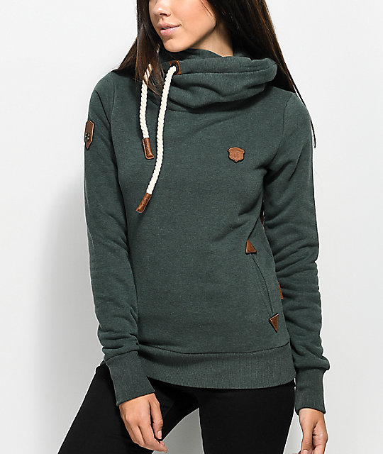 Naketano Dirty Darth Forest Green Hoodie