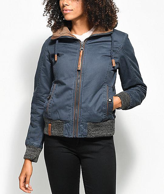 Naketano Rulpsen Schmatzen Dark Blue Jacket | Zumiez