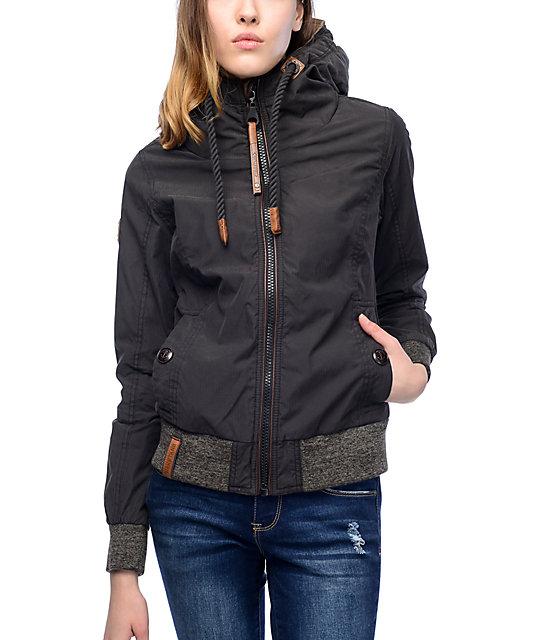 naketano schnipp schnapp black jacket. Black Bedroom Furniture Sets. Home Design Ideas