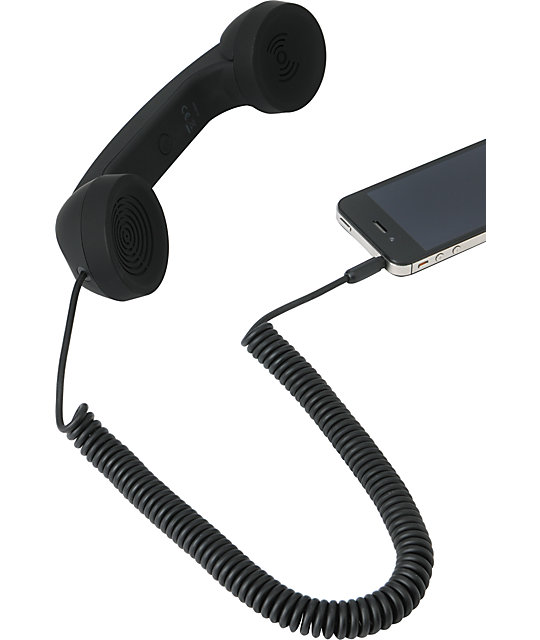 Native Union POP Retro Phone Handset in Black