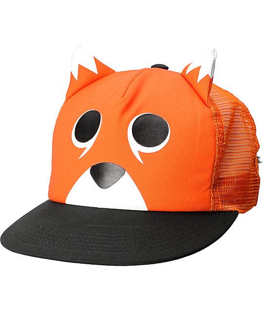 Neff Animal Fox Orange Hat