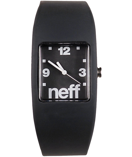 Neff Bandit Black Wristband Analog Watch