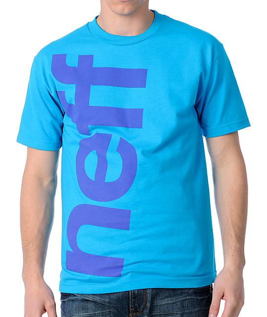 Neff Big Neff Turquoise T-Shirt