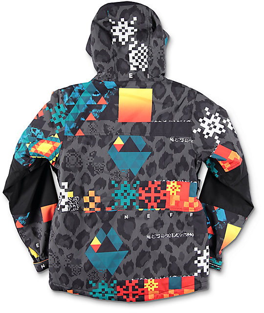 Neff Boys Daily Psych Safari Snowboard Jacket