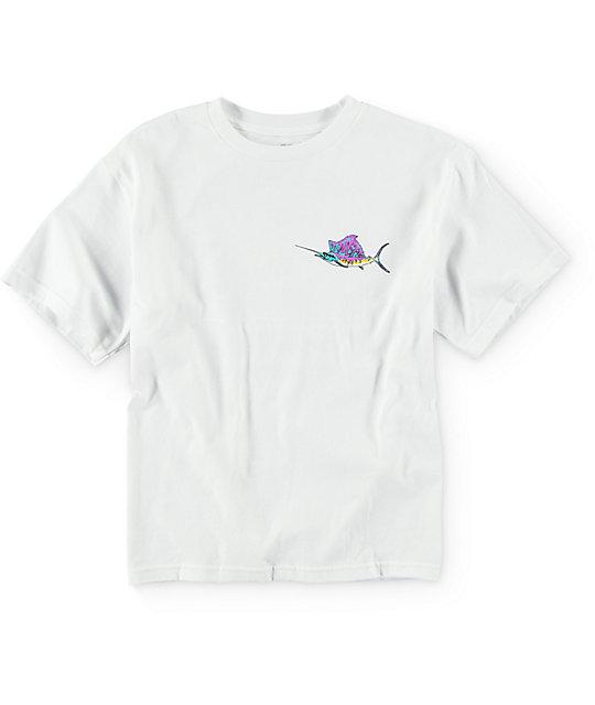 Neff Boys Hooked White T-Shirt