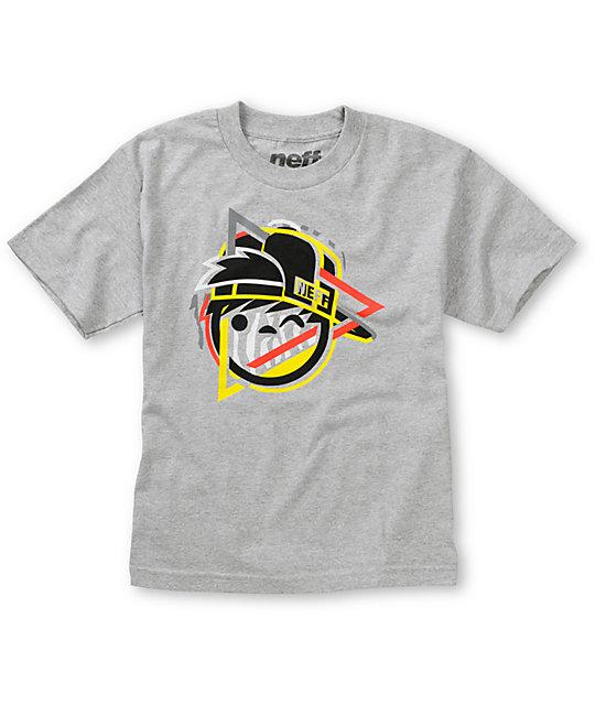Neff Boys Riggy Grey T-Shirt