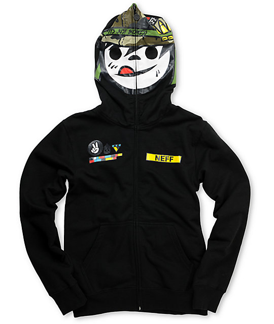 Full zip up hoodies with mask