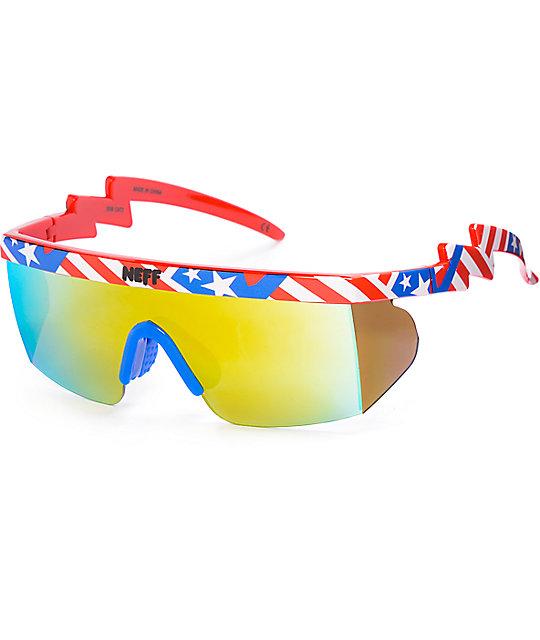Neff Brodie American Sunglasses
