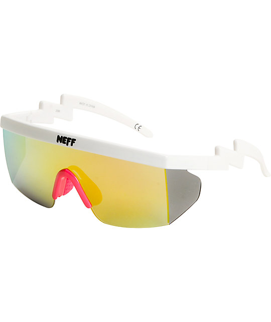 Neff Brodie White Sunglasses