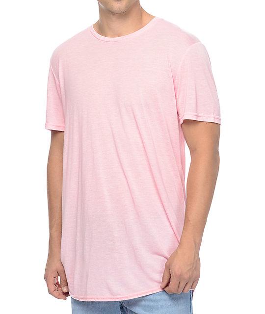 Neff Bronson Pink Long T-Shirt