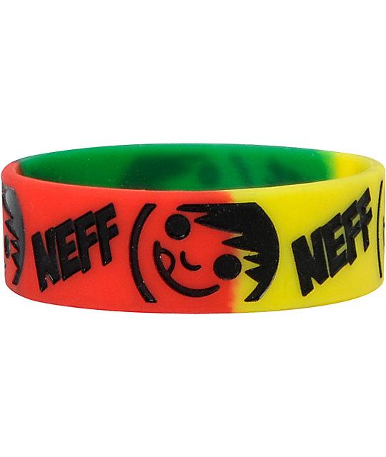 Neff Buzz Rasta Bracelet