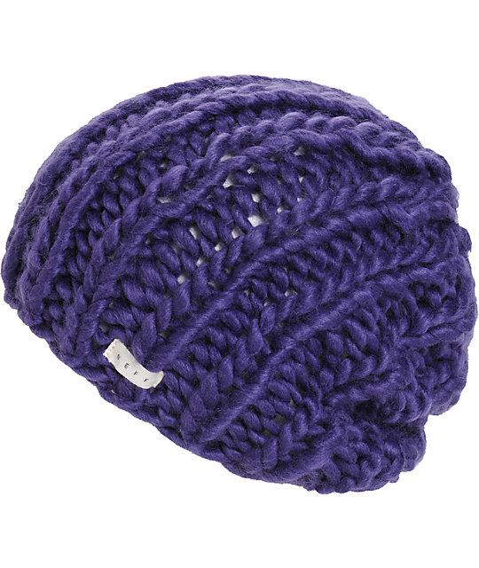 Neff Cara Purple Beanie