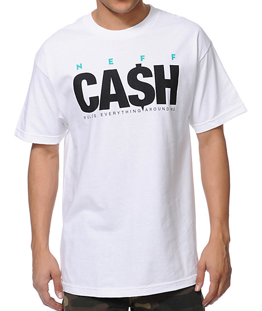 Neff Cash White T-Shirt