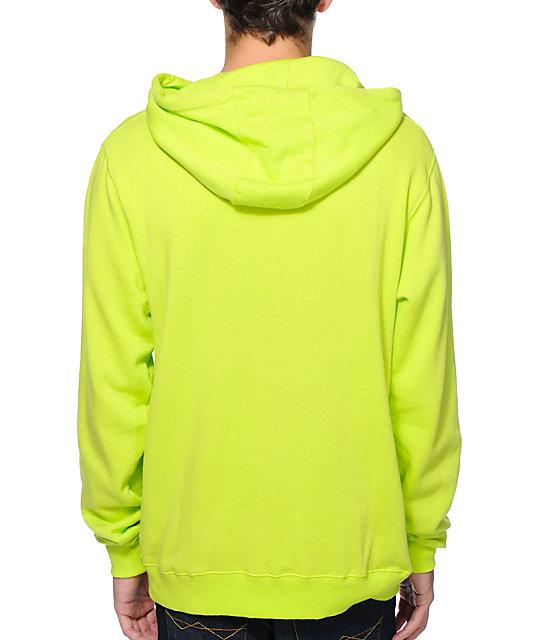 Neff Classic Kenni Yellow Pullover Hoodie | Zumiez