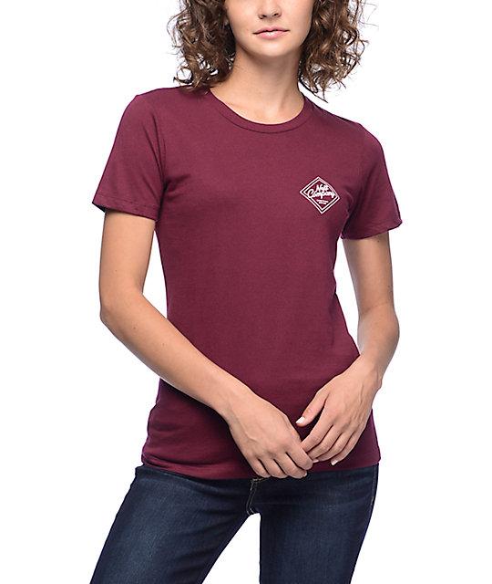 Neff Company Burgundy T-Shirt