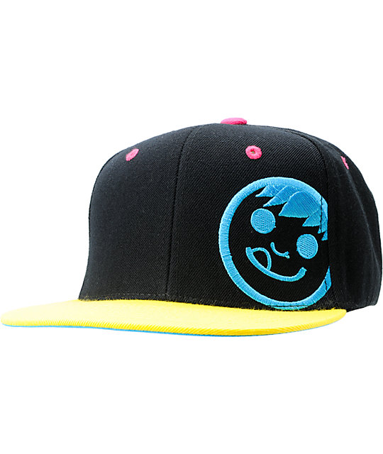 Neff Corpo Black & Yellow Snapback Hat