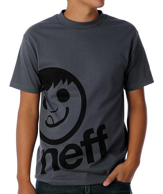 Neff Corpo Charcoal T-Shirt