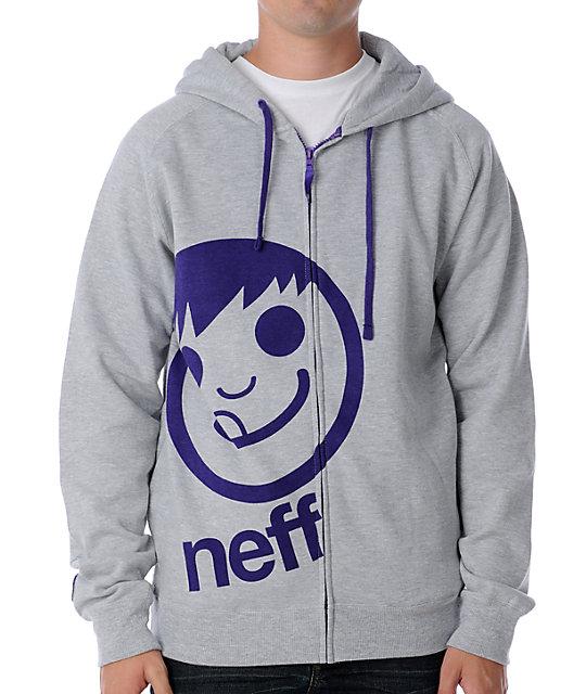 Neff Corpo Grey Hoodie