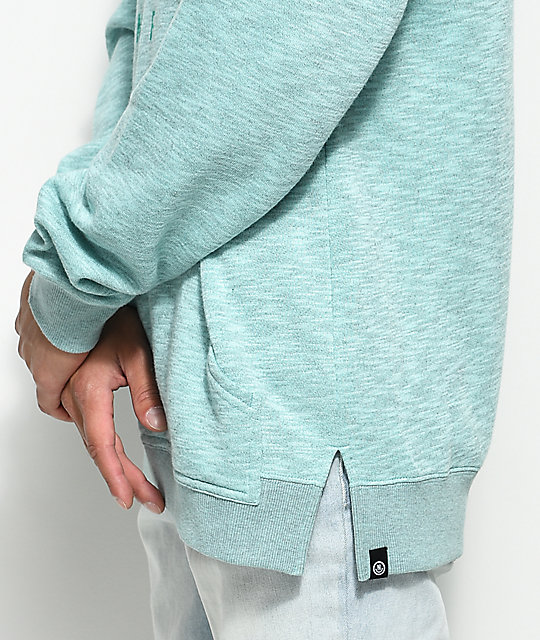 Neff Corpo Heather Mint Pullover Hoodie