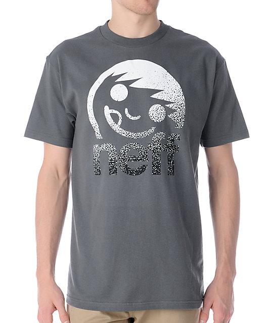 Neff Corpo Spray Charcoal T-Shirt