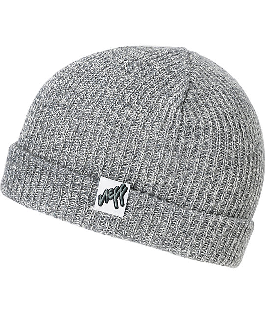 Neff Cuff Heather Grey Beanie