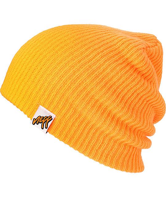 Neff Cuff Orange Beanie