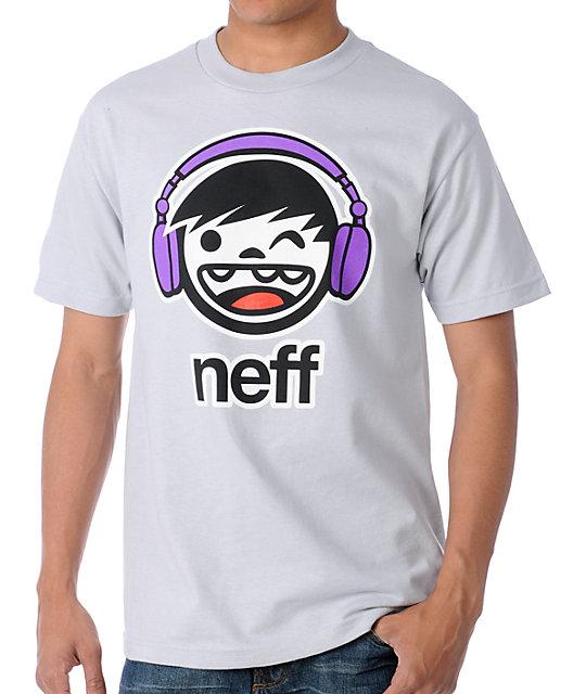 Neff DJ Kenny Silver T-Shirt